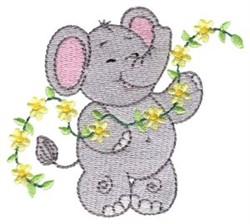 Little Nellie Floral Vine embroidery design