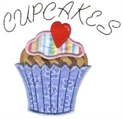 Applique Cupcakes embroidery design