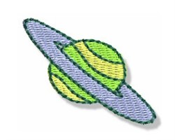 Mini Planet embroidery design