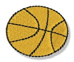 Mini Basketball embroidery design