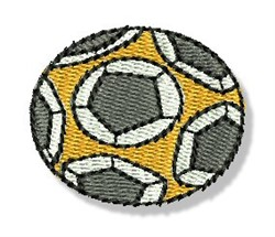 Mini Soccer Ball embroidery design