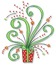 Christmas Doodads Gift embroidery design