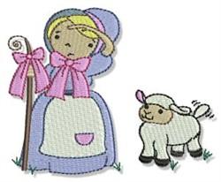Little Bo Peep embroidery design