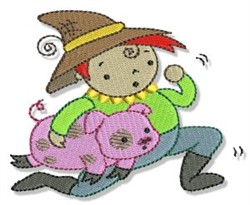 Tom The Pipers Son embroidery design