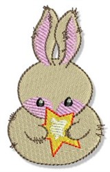 Country Snowman Bunny embroidery design