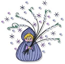 Bubba Boo In Winter embroidery design
