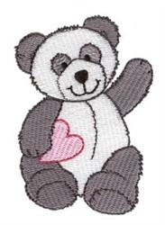 Pandamonium embroidery design