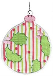 Christmas Ornament Applique embroidery design
