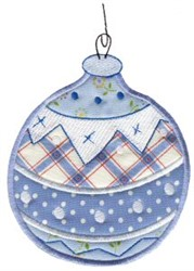 Christmas Ornaments Applique embroidery design