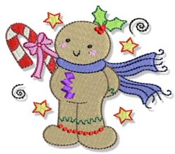 A Ginger Christmas embroidery design