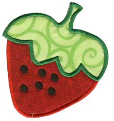 Strawberry Applique embroidery design