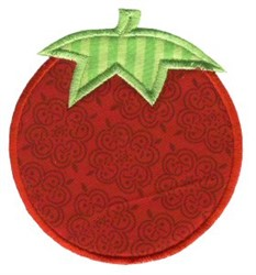 Tomato Applique embroidery design