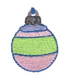 Christmas Mini Ornament embroidery design