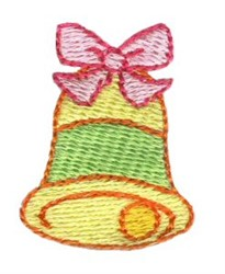 Christmas Mini Bell embroidery design
