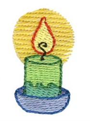 Christmas Mini Candle embroidery design