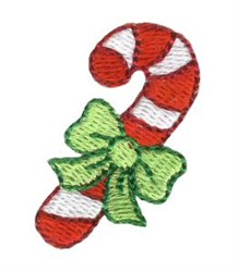 Christmas Mini Candy Cane embroidery design