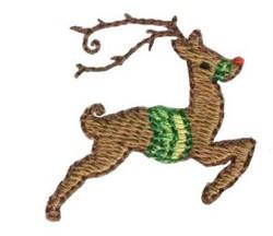 Christmas Mini Reindeer embroidery design