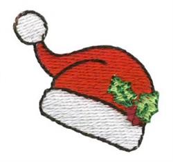 Christmas Mini Santa Hat embroidery design