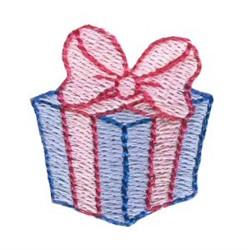Christmas Mini Gift embroidery design