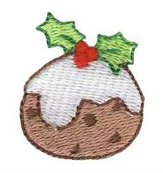 Christmas Mini Fruitcake embroidery design