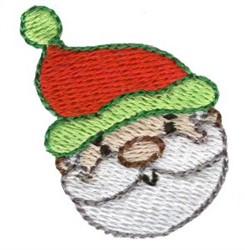 Christmas Mini Santa embroidery design