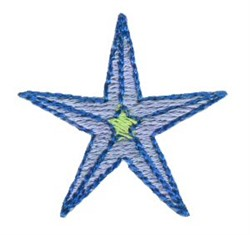 Christmas Mini Star embroidery design