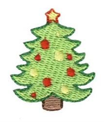 Christmas Mini Tree embroidery design