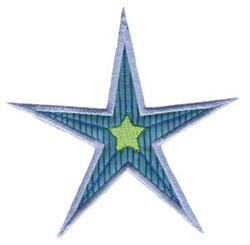 Christmas Star Applique embroidery design