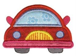 Automobile On The Move Applique embroidery design
