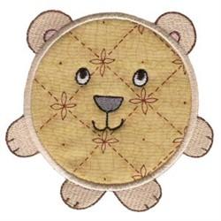 Roundys Bear Applique embroidery design