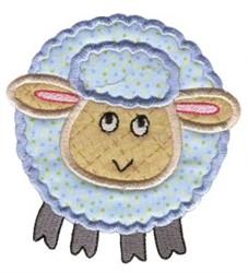 Roundys Sheep Applique embroidery design
