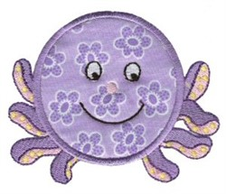 Roundys Octopus Applique embroidery design