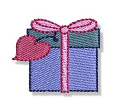 Valentines Mini Gift embroidery design