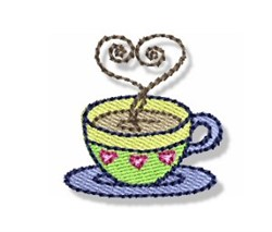 Valentines Mini Mug embroidery design