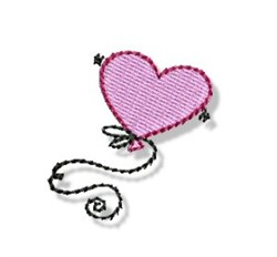 Valentines Mini Balloon embroidery design