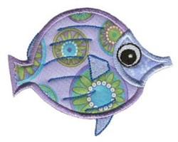 Fish Sea Squirts Applique embroidery design