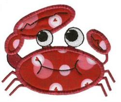 Crab Sea Squirts Applique embroidery design