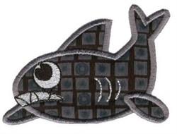 Shark Sea Squirts Applique embroidery design