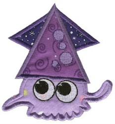 Squid Sea Squirts Applique embroidery design