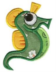 Seahorse Sea Squirts Applique embroidery design