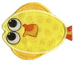 Flatfish Sea Squirts Applique embroidery design