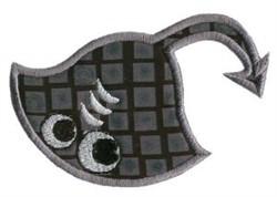 Stingray Sea Squirts Applique embroidery design