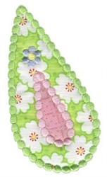 PaisleyApplique embroidery design