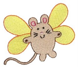 Mouse Sprite embroidery design