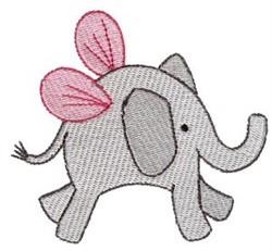 Elephant Sprite embroidery design