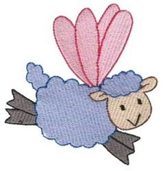 Sheep Sprite embroidery design