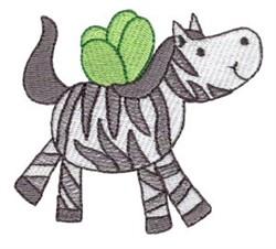 Zebra Sprite embroidery design