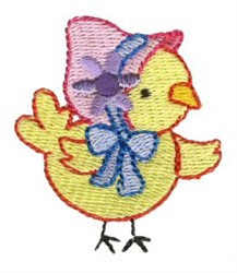 Easter Mini Chick embroidery design