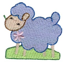 Easter Mini Lamb embroidery design