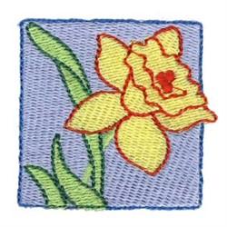 Easter Mini Daffodil embroidery design